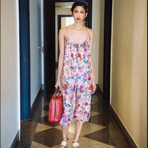 1ae40962a700 Rachel Antonoff Pants - Rachel Antonoff Coco Floral Jumpsuit